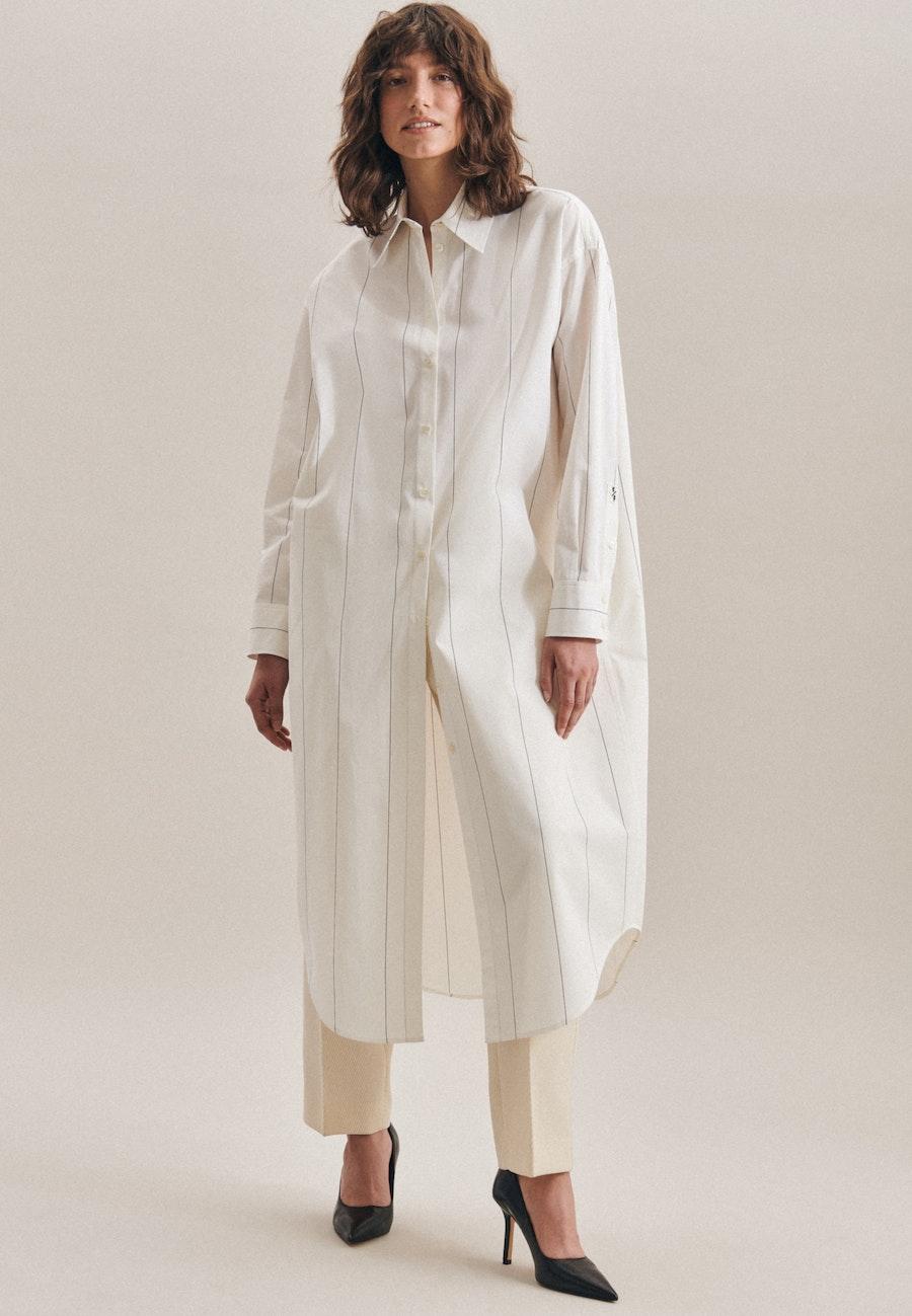 Twill Maxi Kleid aus 100% Baumwolle in Ecru |  Seidensticker Onlineshop