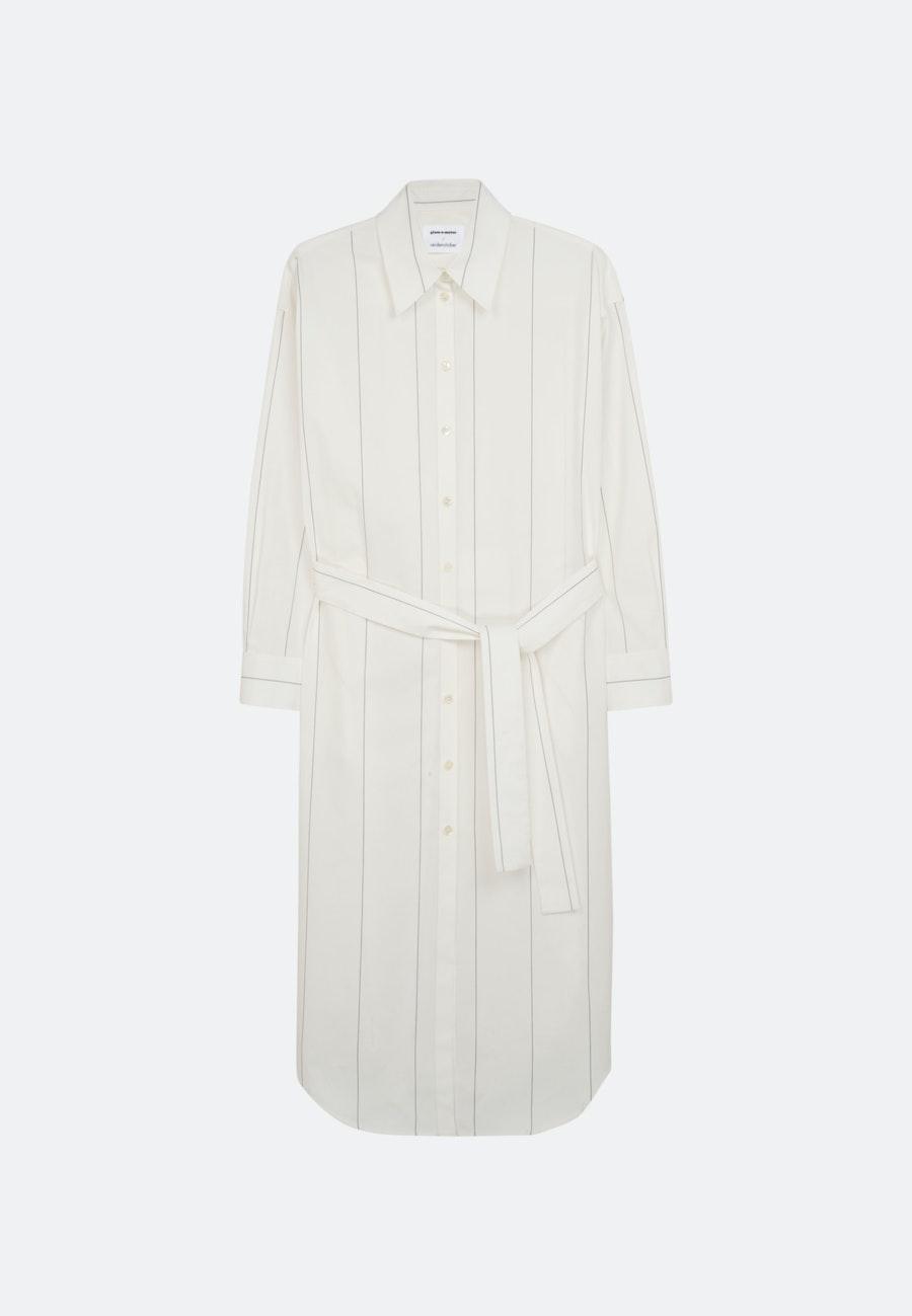 Twill Maxi Dress made of 100% Cotton in Ecru |  Seidensticker Onlineshop