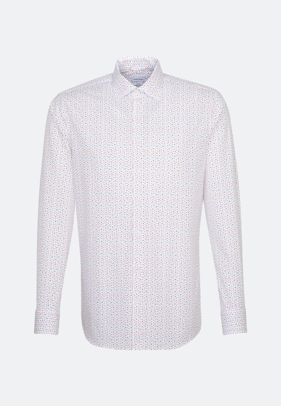 Easy-iron Popeline Business Shirt in X-Slim with Kent-Collar in Red |  Seidensticker Onlineshop