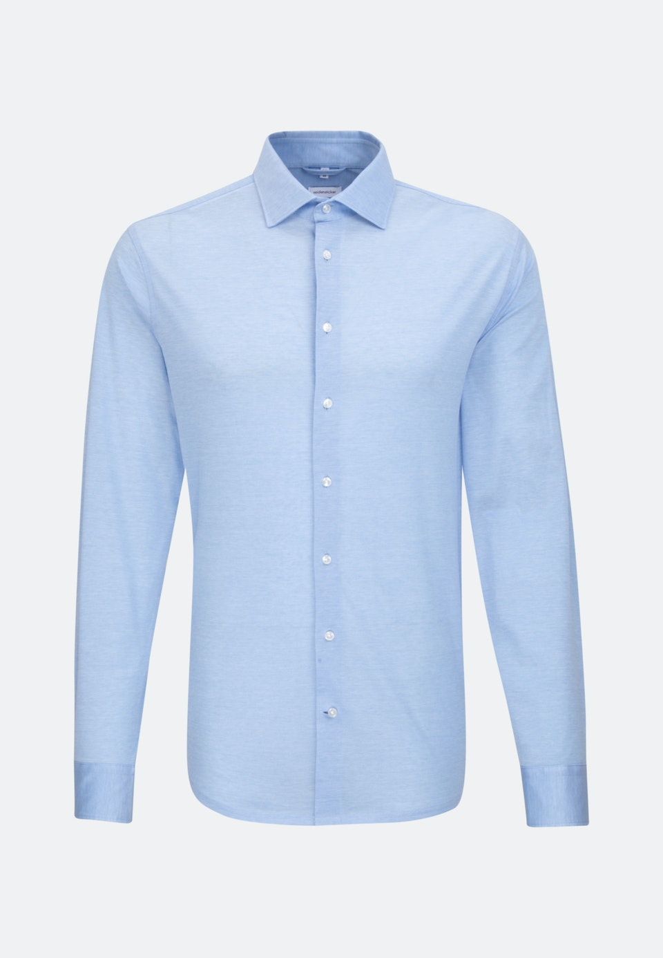 Jersey Business Shirt in Slim with Kent-Collar in Light blue |  Seidensticker Onlineshop