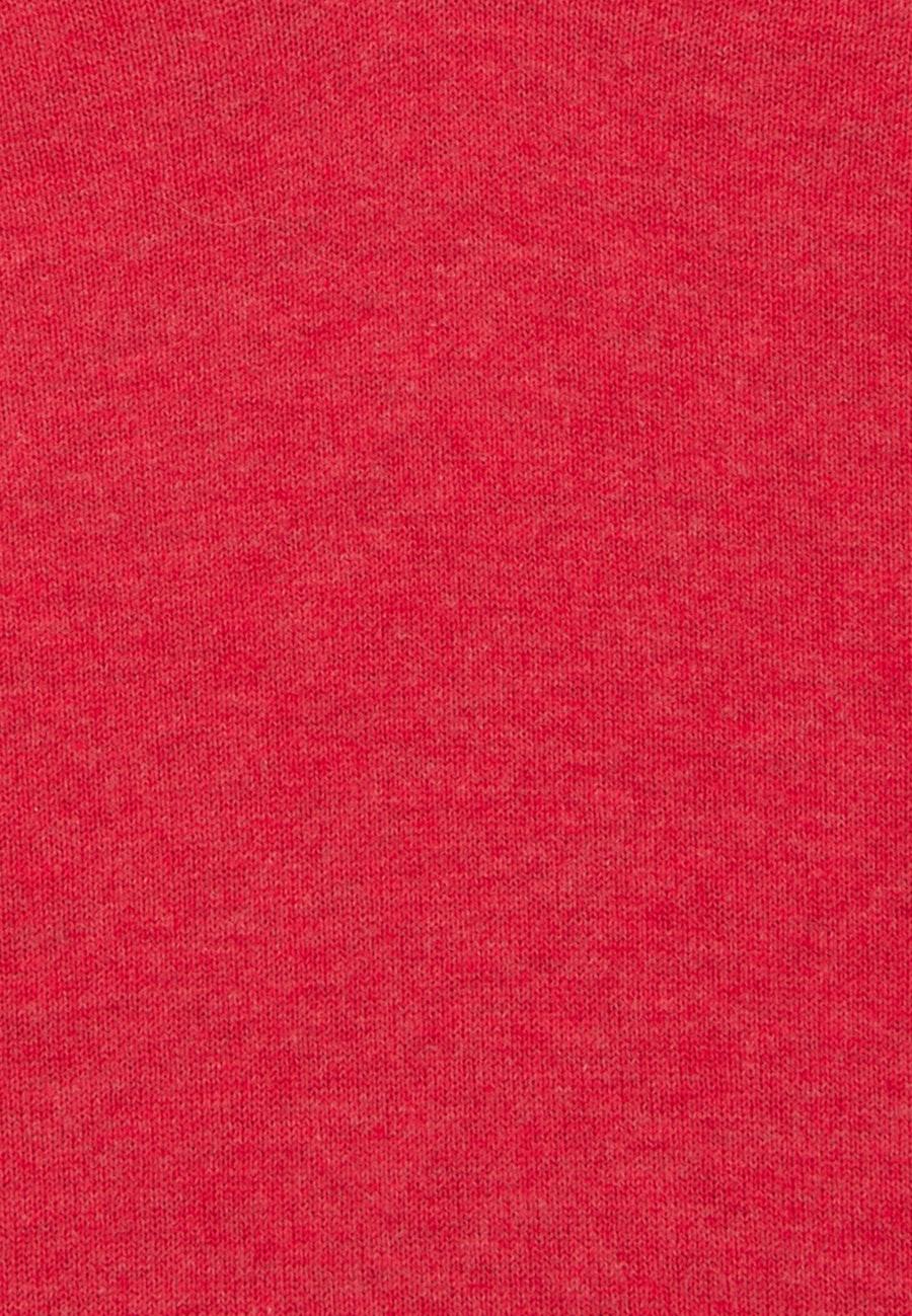 V-Neck Pullover 100% Baumwolle in Rot |  Seidensticker Onlineshop