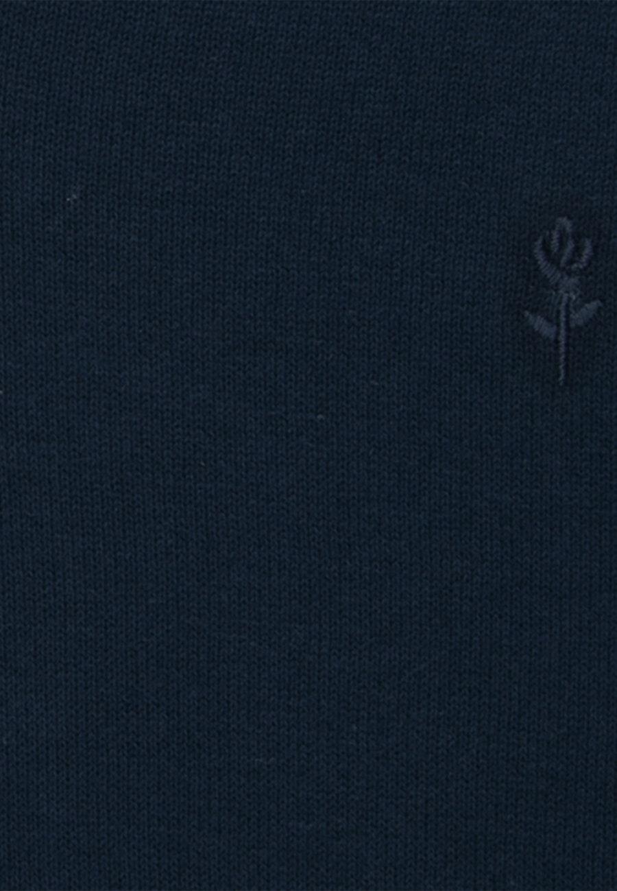 V-Neck Pullover made of 100% Cotton in Dark blue |  Seidensticker Onlineshop