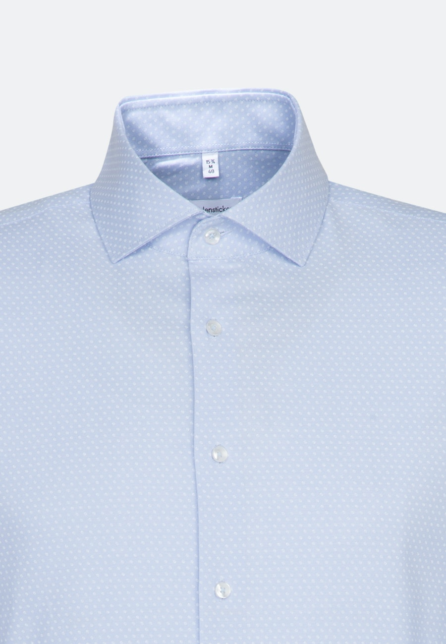 Easy-iron Oxford Business Shirt in Shaped with Kent-Collar and extra long sleeve in Light blue |  Seidensticker Onlineshop