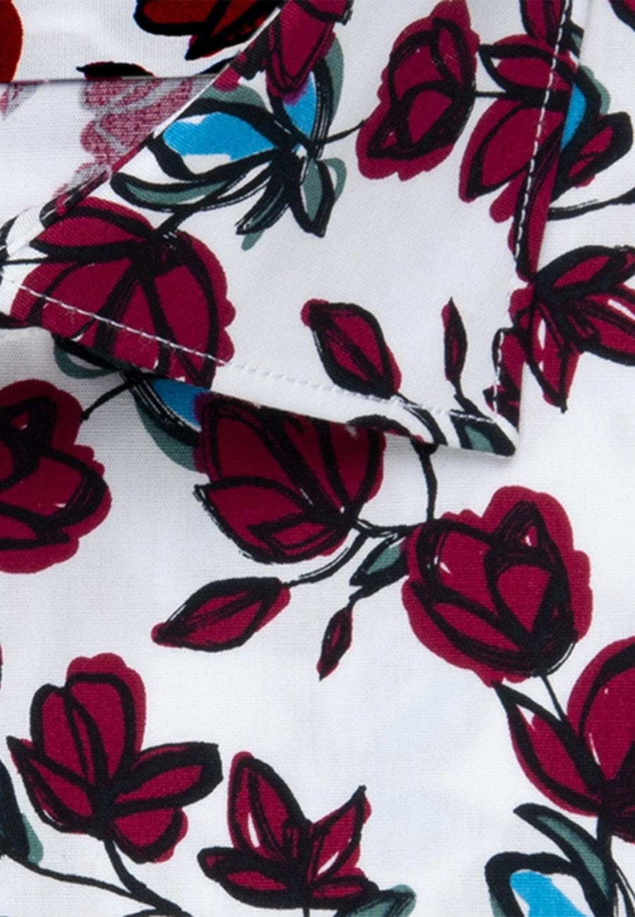 Popeline Business Hemd in Regular mit Kentkragen in Rot    Seidensticker Onlineshop