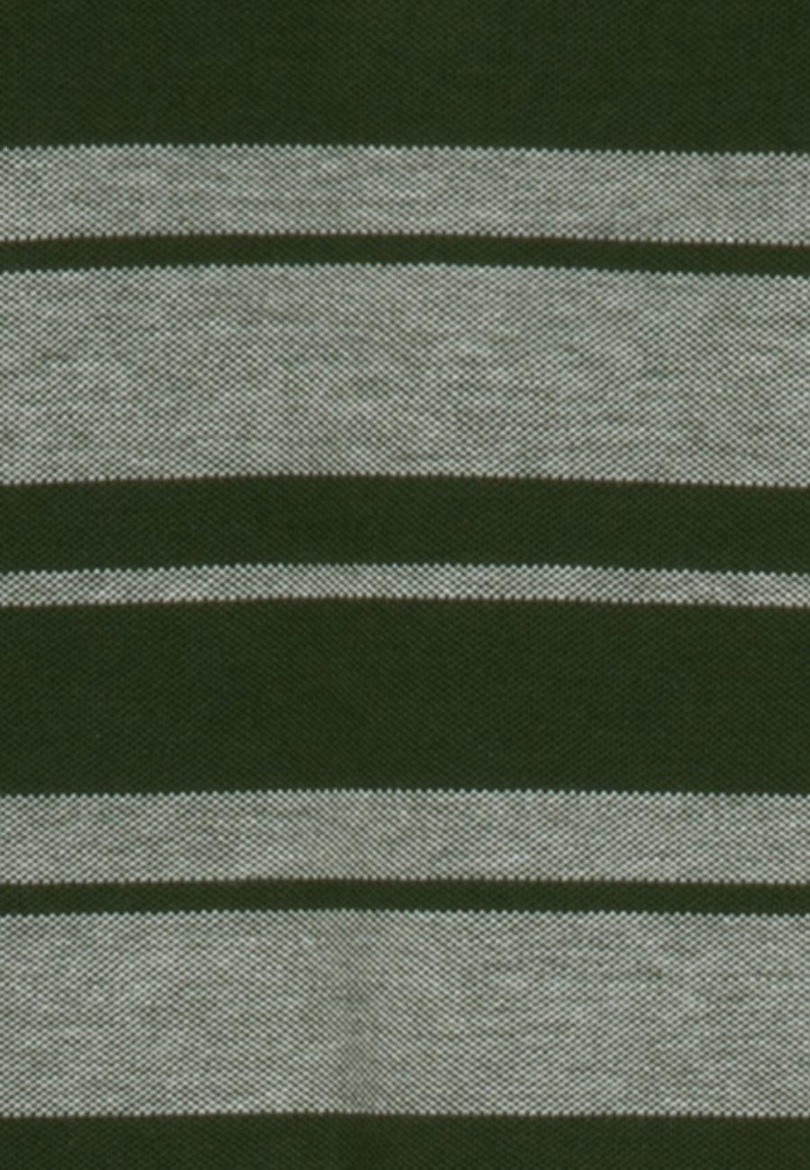 Polo-Shirt aus Baumwollmischung in Grün |  Seidensticker Onlineshop