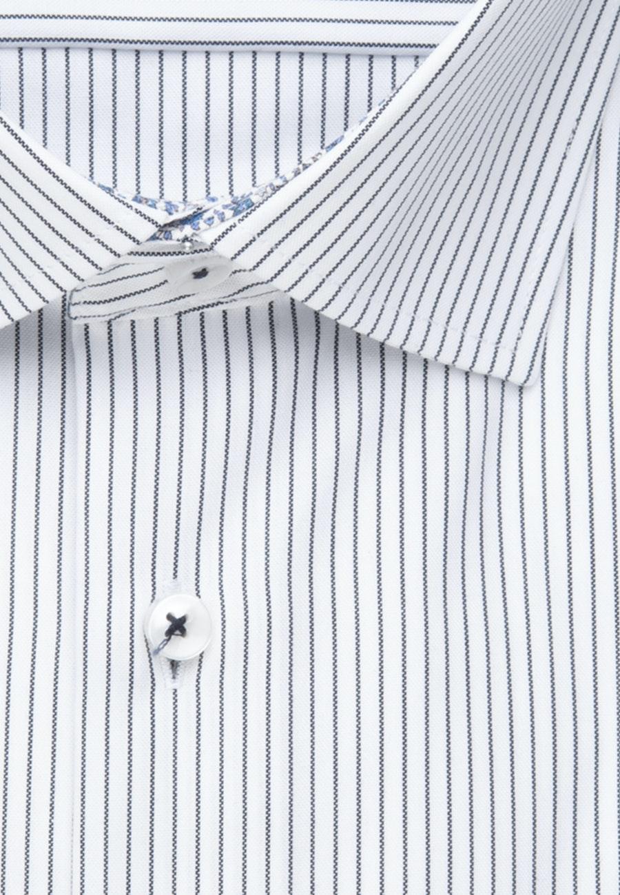 Bügelfreies Oxfordhemd in X-Slim mit Kentkragen in Dunkelblau |  Seidensticker Onlineshop