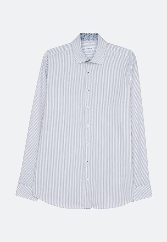 Bügelfreies Oxford Business Hemd in X-Slim mit Kentkragen in Dunkelblau |  Seidensticker Onlineshop