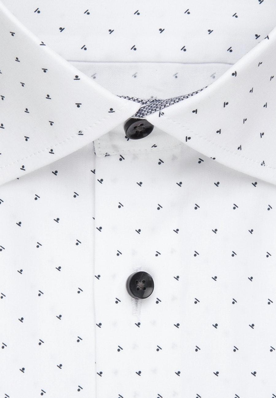 Popeline Business Hemd in Slim mit Kentkragen in Grau |  Seidensticker Onlineshop