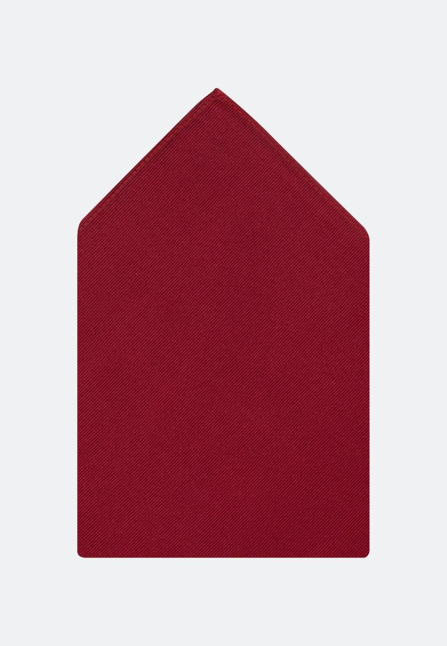 Einstecktuch aus 100% Seide in Rot |  Seidensticker Onlineshop