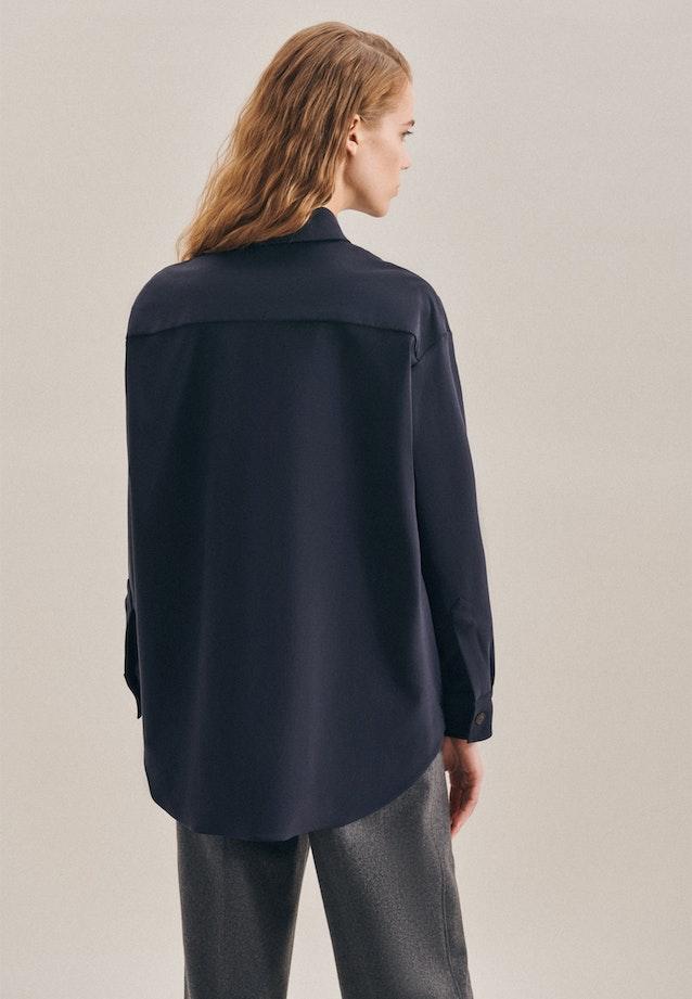 Twill Jacke aus Baumwollmischung in Dunkelblau |  Seidensticker Onlineshop