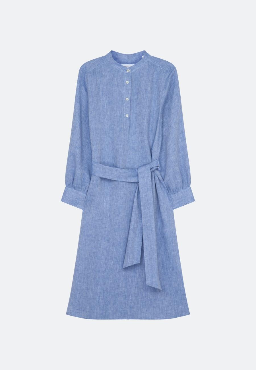 Leinen Maxi Kleid aus 100% Leinen in Dunkelblau    Seidensticker Onlineshop