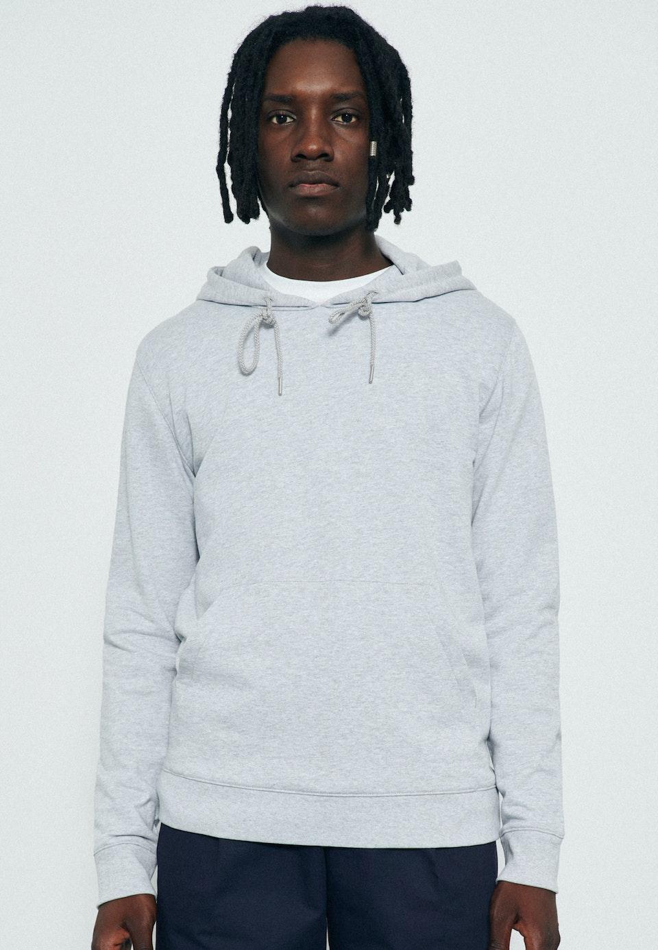 Kapuze Sweat-Shirt 100% Baumwolle in Grau |  Seidensticker Onlineshop