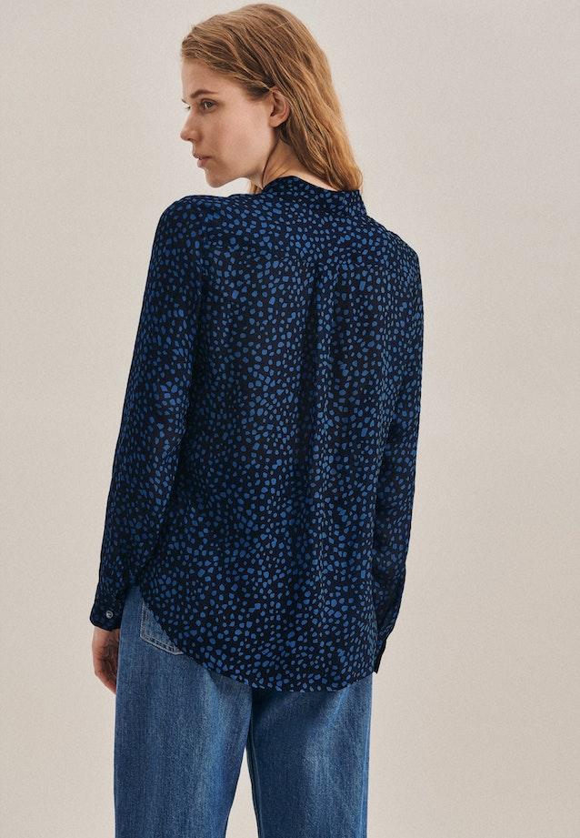 Chiffon Shirt Blouse made of 100% Viscose in Light blue |  Seidensticker Onlineshop