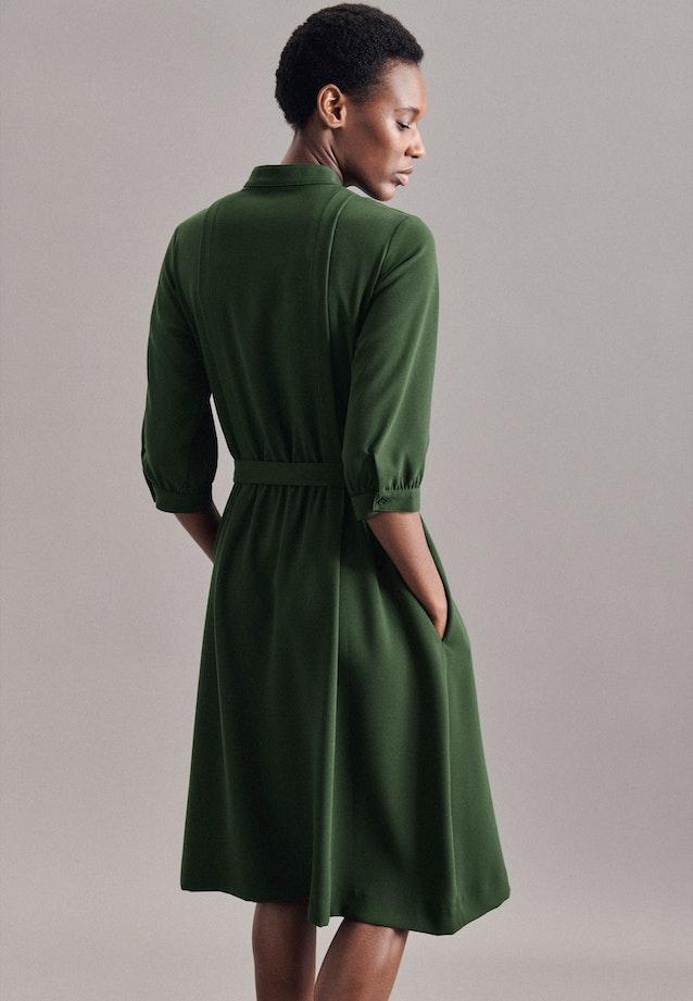 Crepe Midi Dress made of 100% Polyester in Green |  Seidensticker Onlineshop