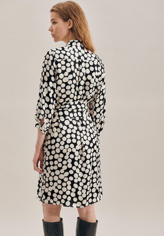 Satin Midi Dress made of 100% Viscose in Black |  Seidensticker Onlineshop
