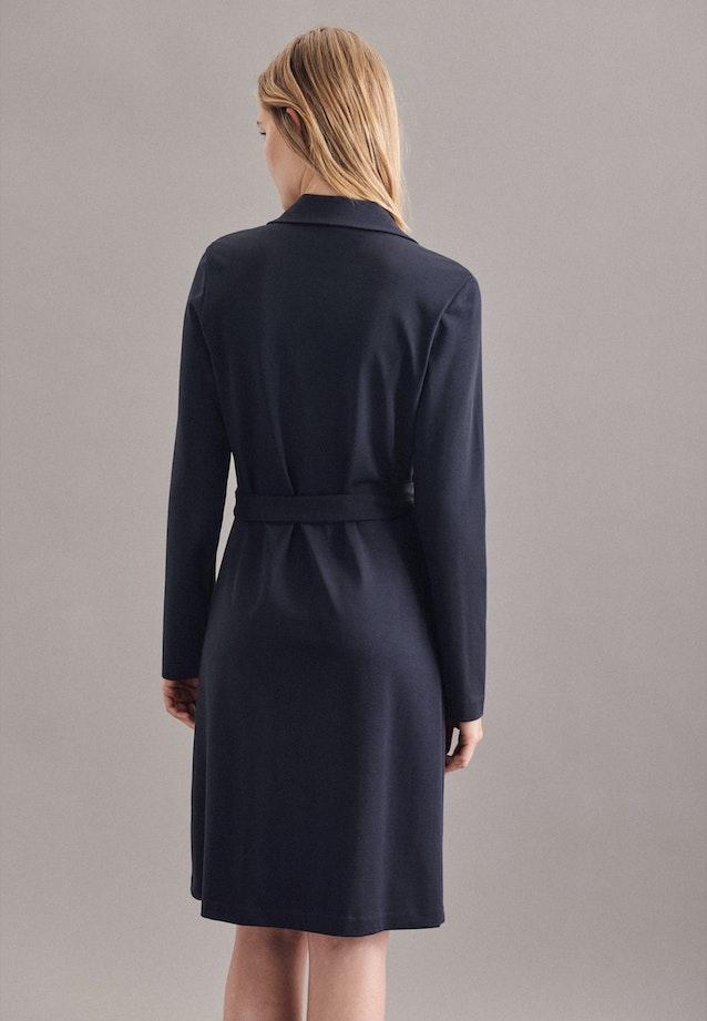 Jersey Midi Dress made of cotton blend in Dark blue |  Seidensticker Onlineshop