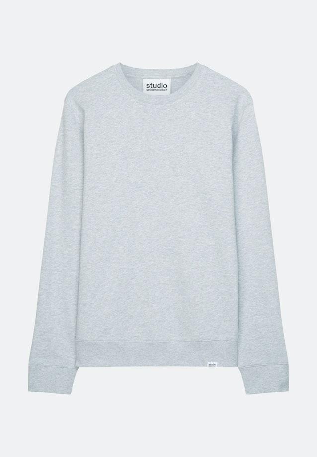 Rundhals Sweater 100% Baumwolle in Grau |  Seidensticker Onlineshop