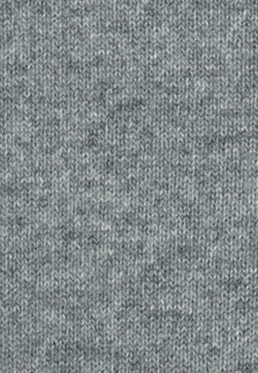 Rundhals Pullover Lammwollmischung in Grau |  Seidensticker Onlineshop