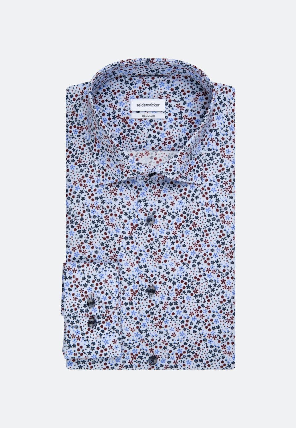 Popeline Business Hemd in Regular mit Kentkragen in Hellblau    Seidensticker Onlineshop