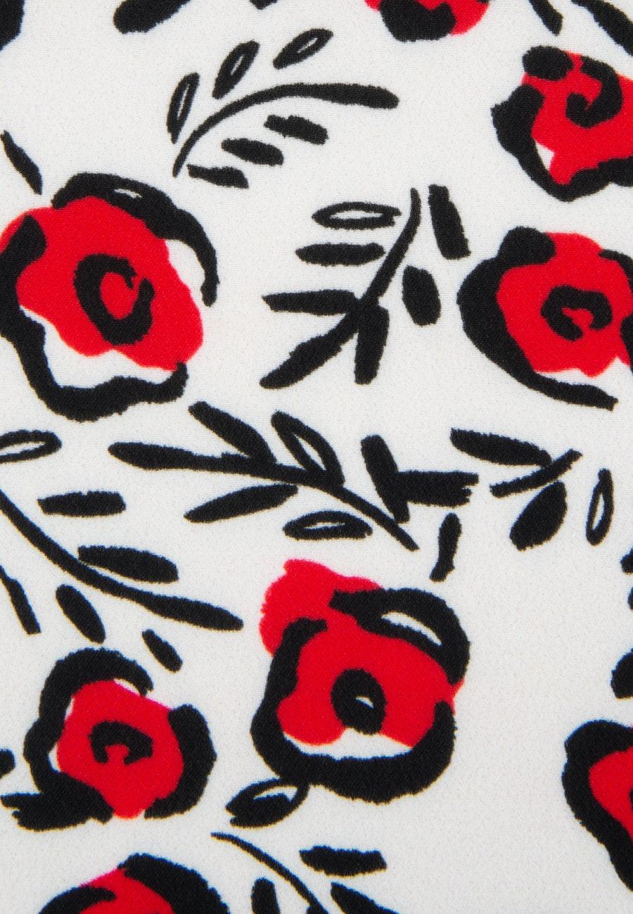 Kurzarm Krepp Shirtbluse aus 100% Viskose in Ecru    Seidensticker Onlineshop