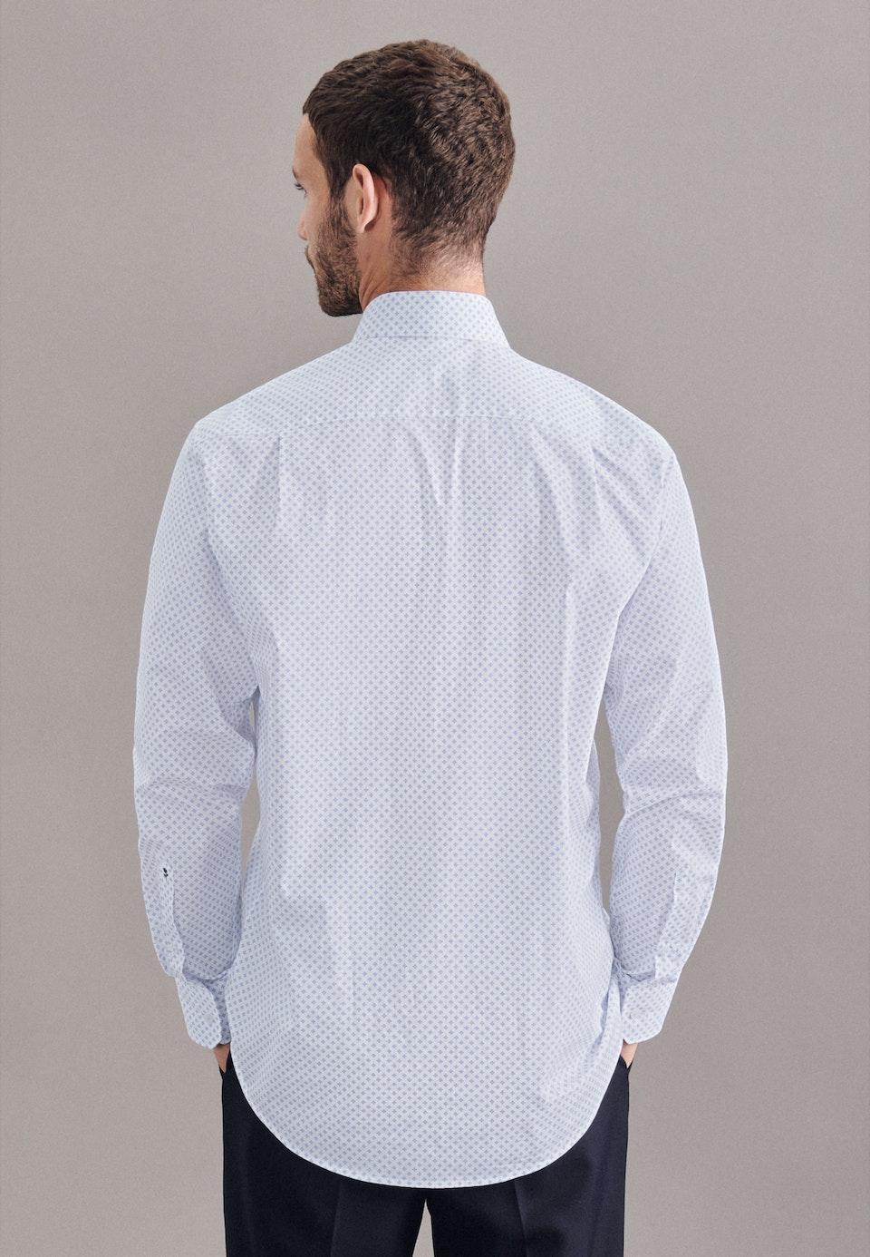 Twill Business Hemd in Regular mit Kentkragen in Hellblau    Seidensticker Onlineshop
