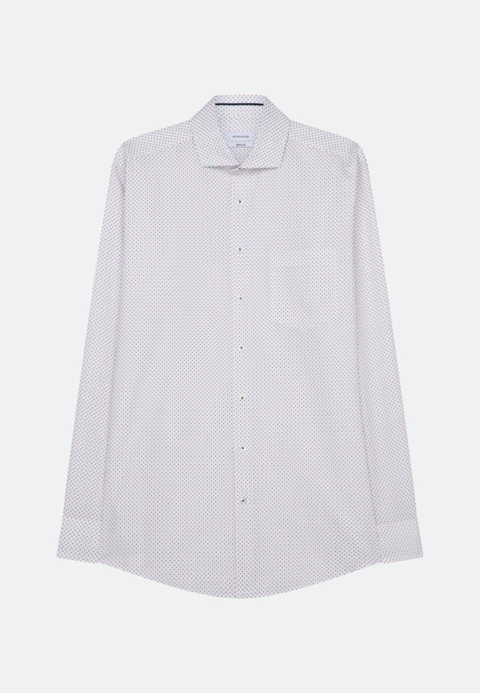 Twill Business Hemd in Regular mit Kentkragen in Dunkelblau    Seidensticker Onlineshop