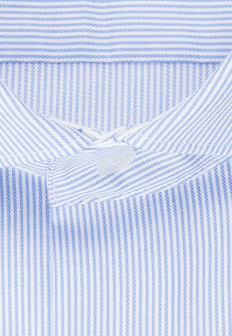 Bügelfreies Twill Business Hemd in X-Slim mit Kentkragen in Hellblau |  Seidensticker Onlineshop