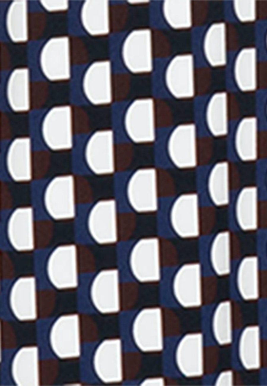 Krepp Maxi Kleid aus Viskosemischung in Dunkelblau    Seidensticker Onlineshop