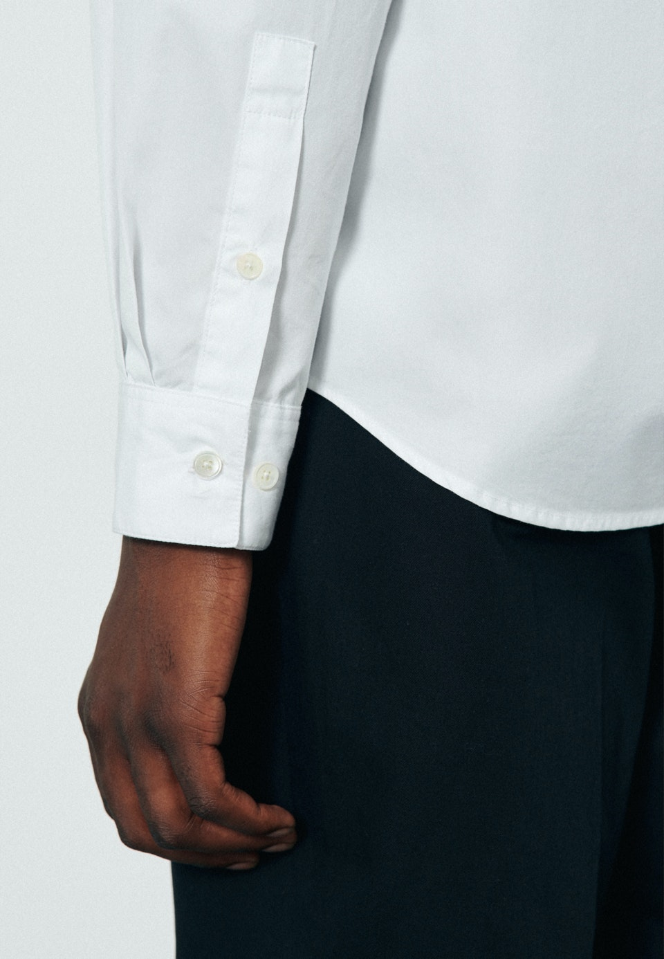 Popeline Casual Hemd in Regular mit Kentkragen in Weiß    Seidensticker Onlineshop