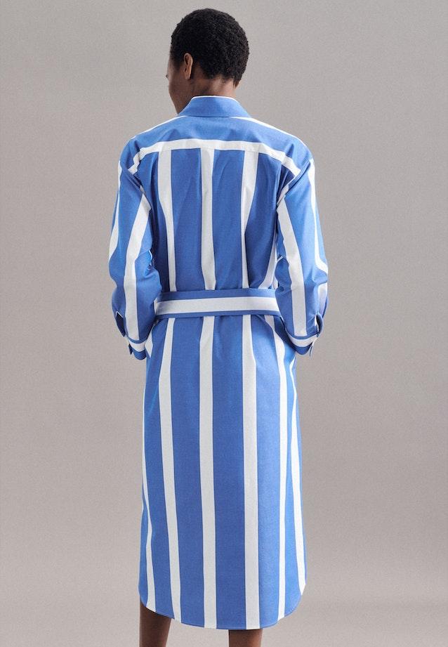 Twill Maxi Kleid aus Baumwollmischung in Hellblau |  Seidensticker Onlineshop