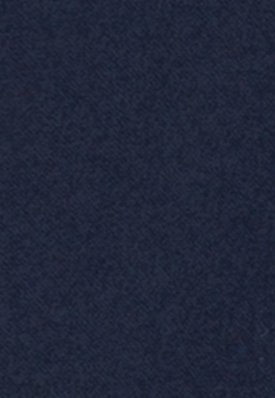 Flanell Hemdbluse aus Wollmischung in Dunkelblau |  Seidensticker Onlineshop
