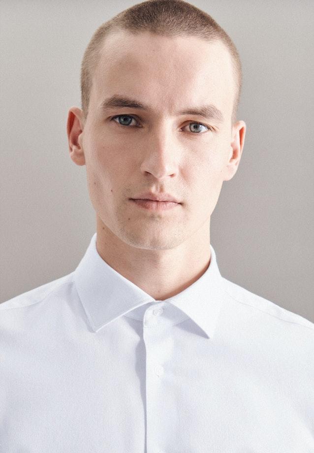 Performancehemd in Shaped mit Kentkragen in Weiß |  Seidensticker Onlineshop