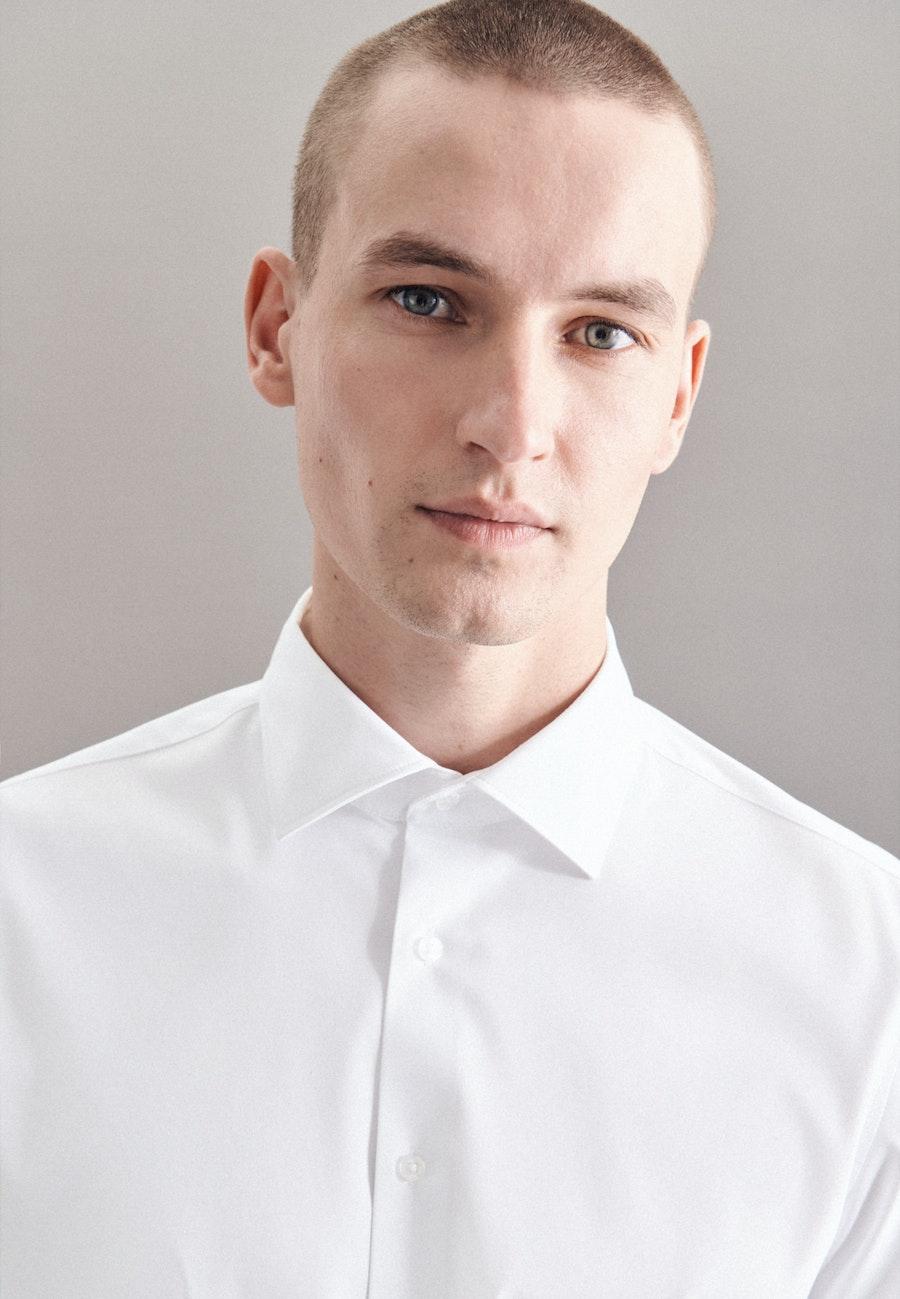 Performancehemd in Slim mit Kentkragen in Weiß    Seidensticker Onlineshop