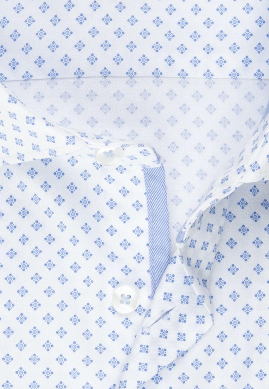 Twill Business Hemd in Slim mit Kentkragen in Hellblau |  Seidensticker Onlineshop