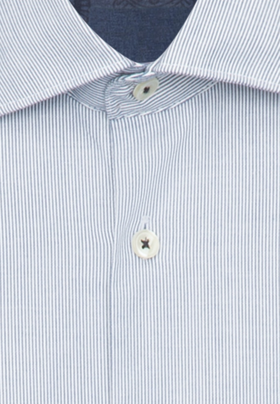 Oxfordhemd in Regular mit Kentkragen in Dunkelblau    Seidensticker Onlineshop
