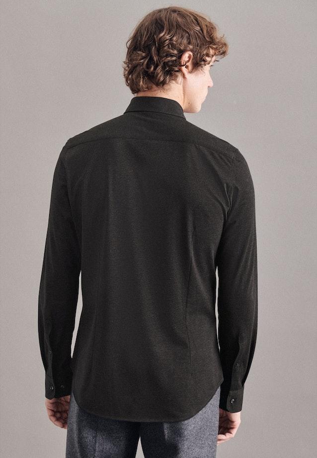 Performancehemd in Slim mit Kentkragen in Grau |  Seidensticker Onlineshop