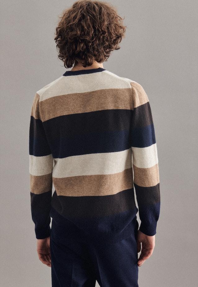 Rundhals Pullover aus Wollmischung in Braun |  Seidensticker Onlineshop