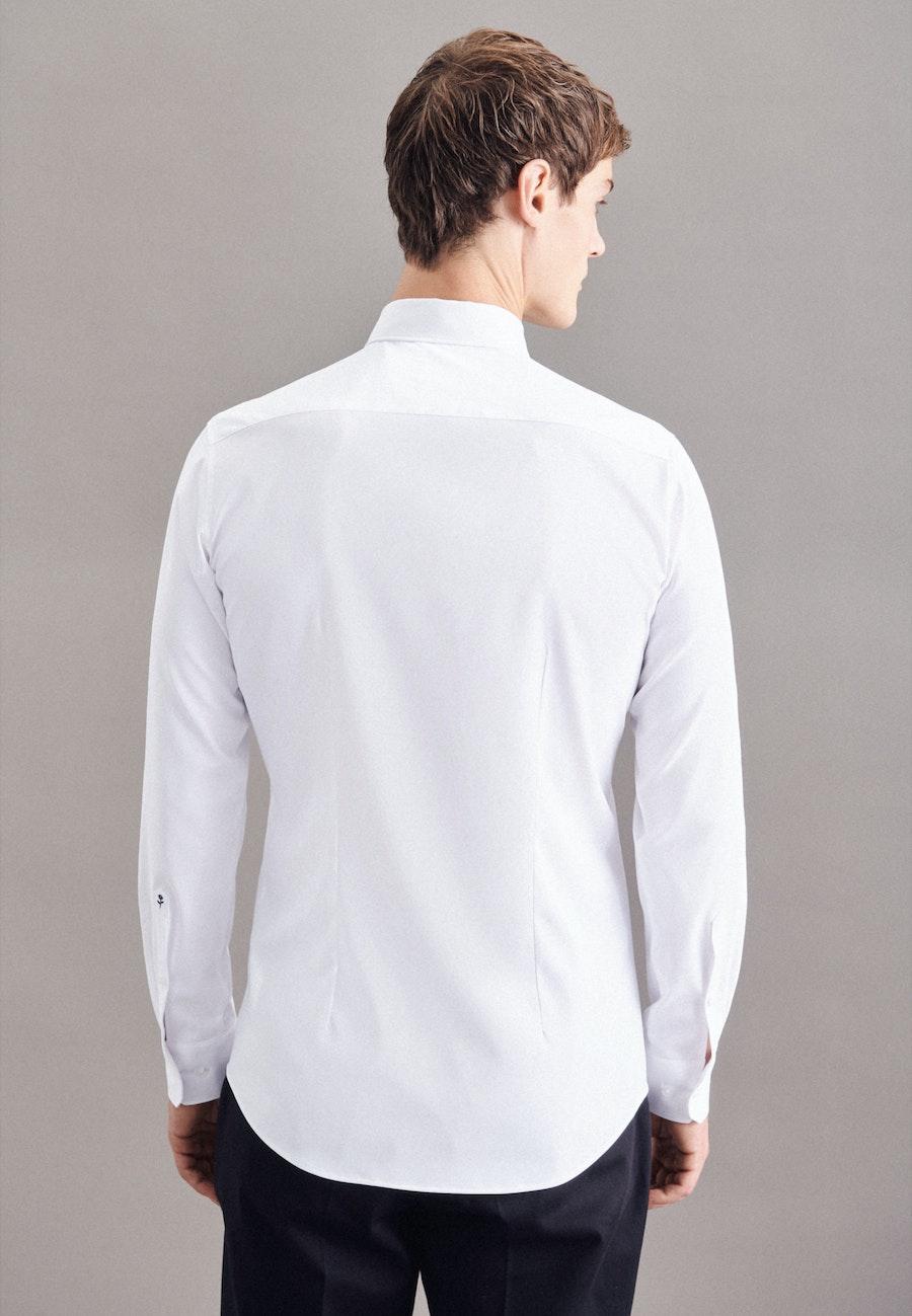 Performancehemd in X-Slim mit Kentkragen in Weiß |  Seidensticker Onlineshop