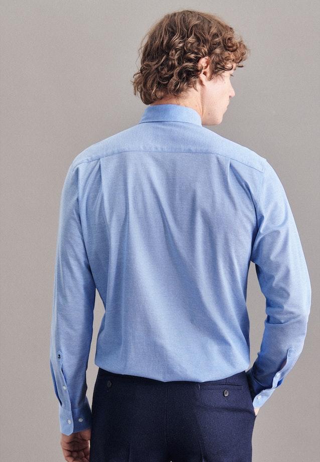 Performance shirt in Regular with Kent-Collar in Light blue    Seidensticker Onlineshop