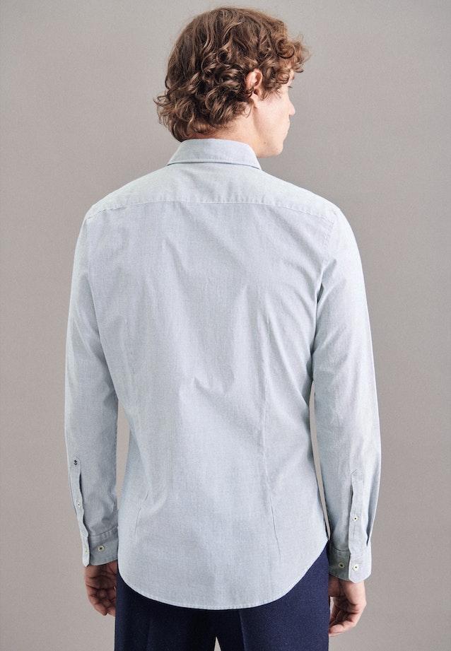 Oxford shirt in Slim with Kent-Collar in Dark blue    Seidensticker Onlineshop