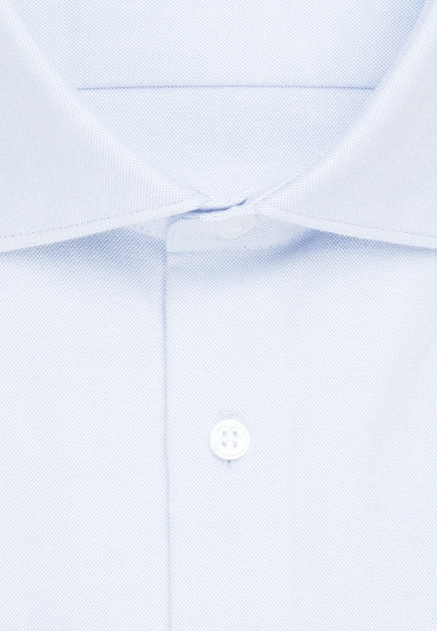 Oxfordhemd in Slim mit Kentkragen in Hellblau    Seidensticker Onlineshop