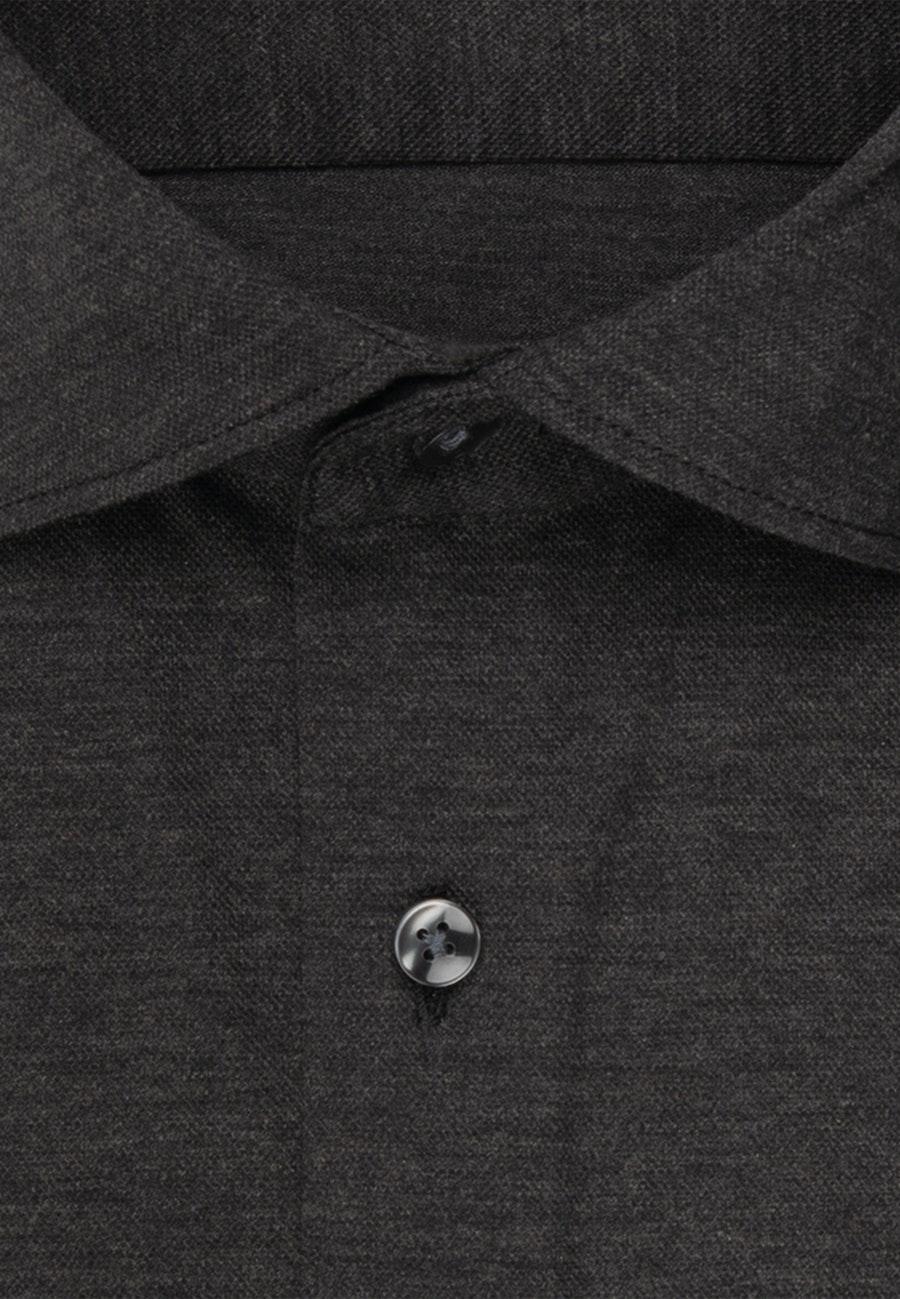 Performancehemd in Shaped mit Kentkragen in Grau |  Seidensticker Onlineshop