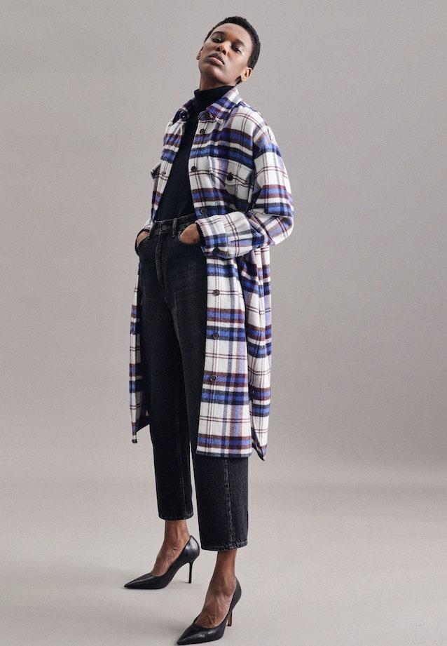 Coat Oversized Fit Long Sleeve in Dark blue |  Seidensticker Onlineshop