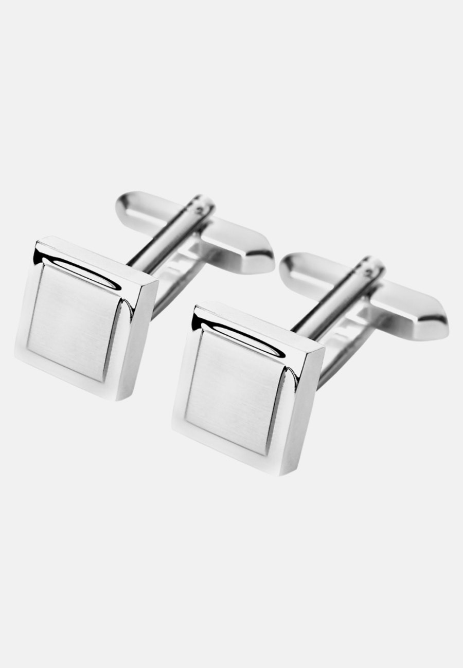 Cuff Links in Grey |  Seidensticker Onlineshop