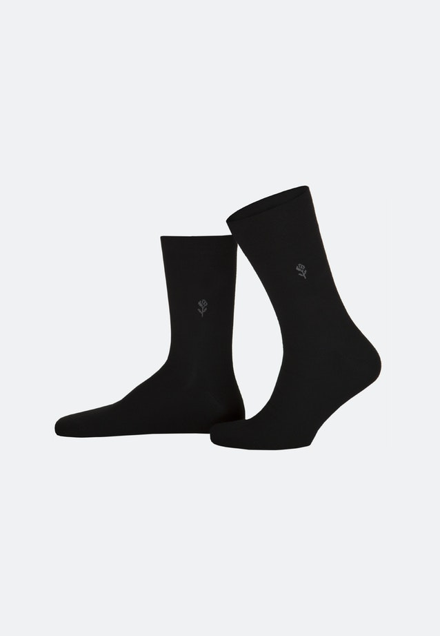 Two-Pack Socks made of cotton blend in Black |  Seidensticker Onlineshop