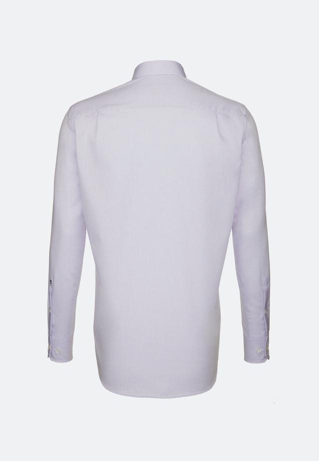 Bügelfreies Chambray Business Hemd in Regular mit Kentkragen in Lila |  Seidensticker Onlineshop