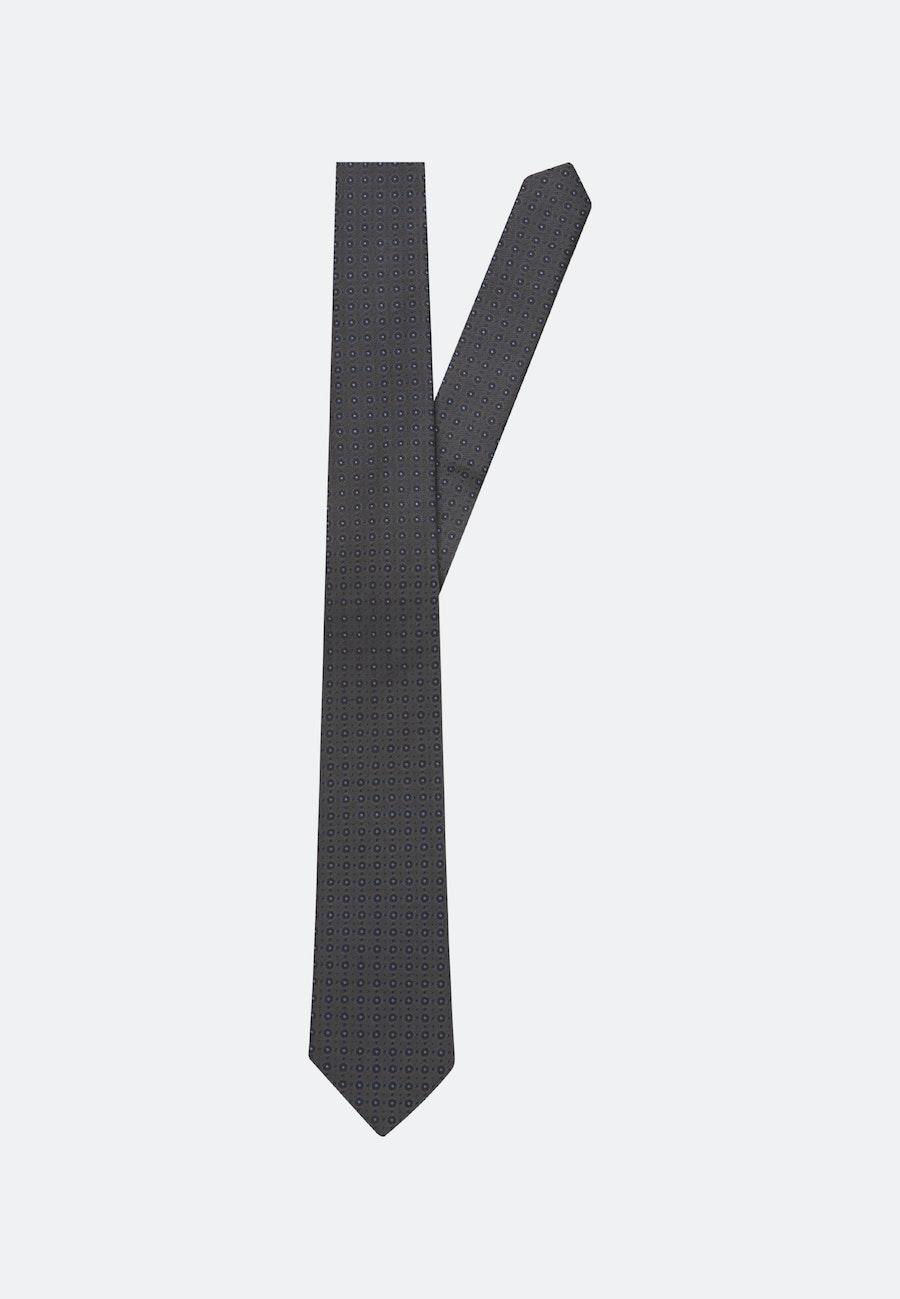 Tie made of 100% Silk 7 cm wide in Grey |  Seidensticker Onlineshop