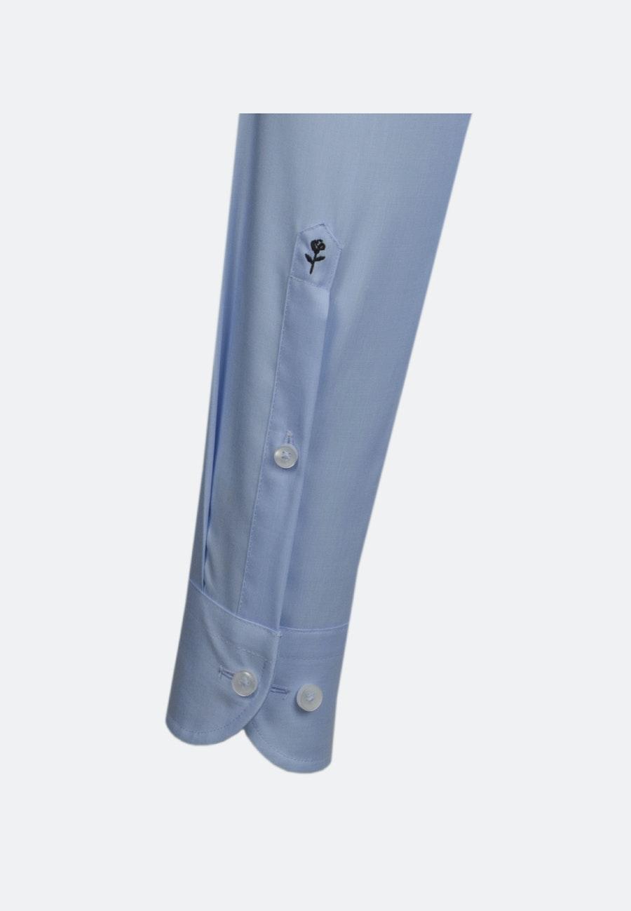 Bügelfreies Popeline Business Hemd in Slim mit Kentkragen und extra langem Arm in Hellblau    Seidensticker Onlineshop