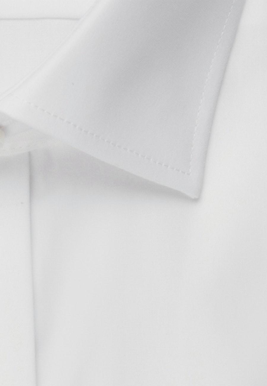 Bügelfreies Popeline Smokinghemd in Slim mit Kentkragen in Braun |  Seidensticker Onlineshop