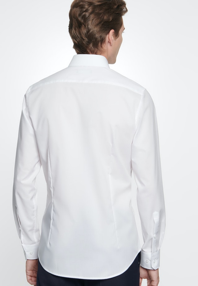 Non-iron Fil a fil Business Shirt in X-Slim with Kent-Collar in White |  Seidensticker Onlineshop